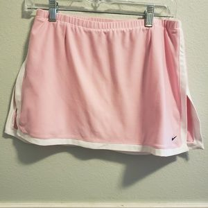Nike skirt with built in shorts size small